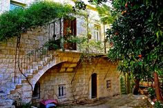'Batroumine - Village with a long history seen through the fine examples of traditional Lebanese houses located in the village center