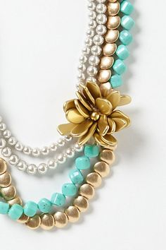 with my turquoise and orange beads...