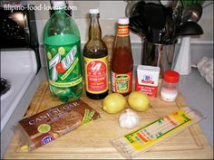 Pinoy BBQ - these are seriously the ingredients for everything my mom makes. Haha!