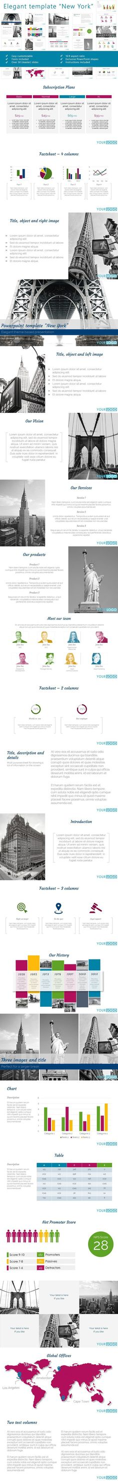 Brended Keynote Template Real Estate Design Pinterest Template