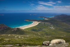 View from Mt Oberon, Wilsons Prom, Vic. http://www.lonelyplanet.com/australia/victoria/wilsons-promontory-national-park