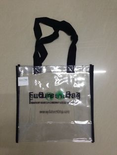 See Through Tote Bags with Company Logo c2e5ab363ca6a