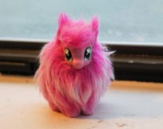 My Little Pony Fluffle Puff Custom Toy. Made one of these myself.<--- cool.