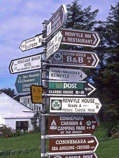 Letterfrack, Connemara, Ireland.