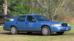 Maine State Police State Trooper # 132 Ford CVPI Slicktop