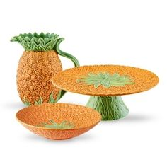 Show products in category Pineapple Dinnerware, Decorative Bowls, Pineapple, Mugs, Tableware, Vases, Portugal, Home Decor, Pine Tree