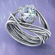 20 gauge wire, crystal bead