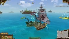 Unearned Bounty is a Free 2 play Action Naval Shooter Multiplayer Game where you battle to become the most infamous pirate