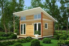 Tiny homes in Portland to house those making less than 15k and the homeless - a great idea!