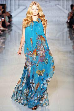 Gucci Resort 2009 Fashion Show - Natasha Poly