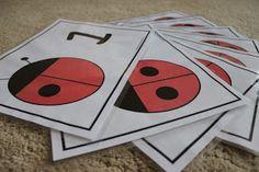 Ladybug Counting (Printable)