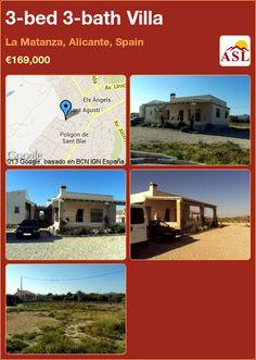 3-bed 3-bath Villa in La Matanza, Alicante, Spain ►€169,000 #PropertyForSaleInSpain