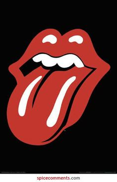 """""""Gli Stones furono uno dei primi gruppi rock ad avere un logo che, persino nell'atmosfera equivoca dei primi anni Settanta, era sfrontatamente esplicito: il disegno rosso livido della bocca di Jagger, con le labbra carnose e aperte nella ben nota smorfia"""". Philip Norman Mick Jagger"""