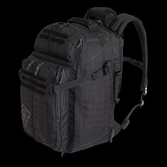 First Tactical Tactix 1-Day Plus Backpack in Black