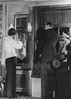 Fräulein van de Loo und Herr von Hagemeister - 1934 ullstein bild - Karl Schenker/Timeline Images