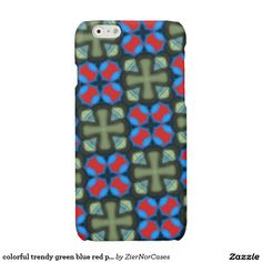 Purchase a new Colorful case for your iPhone! Shop through thousands of designs for the iPhone iPhone 11 Pro, iPhone 11 Pro Max and all the previous models! Red Pattern, Iphone Models, Iphone Case Covers, Blue Green, Colorful