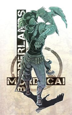 BORDERLANDS:Mordecai by KEISUKEgumby.deviantart.com on @deviantART