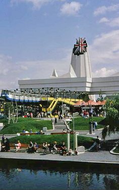 Great Britain Pavilion, Expo '67 ~ Montréal Old Montreal, Montreal Ville, Montreal Quebec, Montreal Canada, Ontario Place, Expo 67, Canada 150, Canadian History, World's Fair
