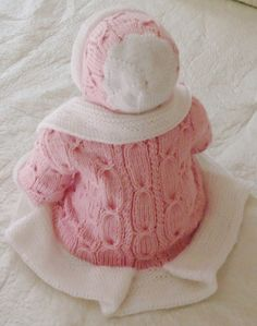 - Sweets baby set in pink and White