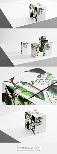 Organic Aroma by Kille Enna — The Dieline - Branding & Packaging - created via https://pinthemall.net