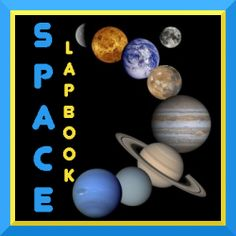 Channel a child's natural fascination with outer space into the creation of a Space Lapbook. Here you will find ideas, printables, books, and more. Earth And Space Science, Science For Kids, Science Nature, Science Lessons, Teaching Science, Science Resources, Science Ideas, Science Fair, Space And Astronomy
