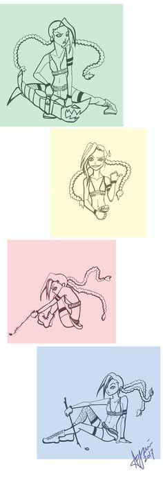 Jinx sketches