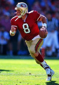 In 2005, Steve Young became the first left-handed quarterback inducted into the Pro Football Hall of Fame.