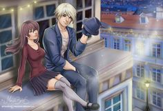 Peter Is it Love? by mayabriefs on DeviantArt Is It Love Matt, Our Love, Diabolik Lovers, Mystic Messenger, Blonde Goth, Anime Episodes, Love Games, Love Illustration, Love Pictures