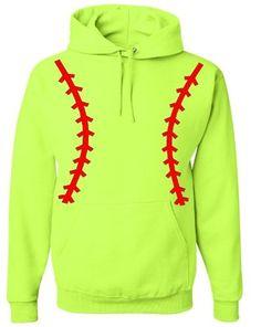 Softball Pullover Hooded Sweatshirt