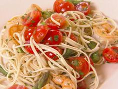 Get Linguini with Shrimp Recipe from Food Network