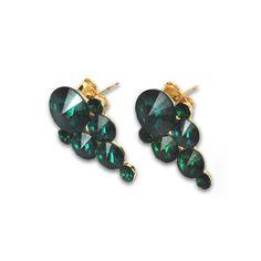 My design inspiration: Emerald Shake Earrings on Fab.