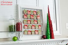 """Love this adorable """"Brown Paper Packages"""" Christmas countdown!"""