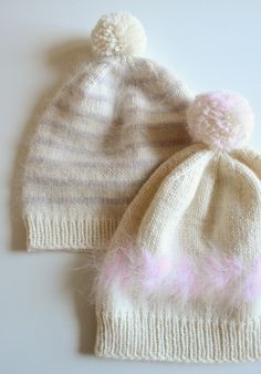 e44fb6b4c5d Whit s Knits  Soft and Sweet Hats - The Purl Bee - Knitting Crochet Sewing  Embroidery Crafts Patterns and Ideas! Yarn available from Purl Soho