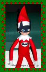 Elf on the Shelf Superheroes Ideas Stickers Printables Costumes Dress Ups Photo Props Batman