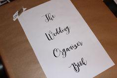 Come creare un Wedding Organizer Book - DIY organizzatore matrimonio matrimoni wedding planner agenda sposa sposi scrapbook scrapbooking
