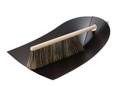 Use it every day. Smart, simple and easy. Dustpan and Broom by Normann Copenhagen.