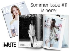 iMute Magazine is an independent fashion magazine focuses on the visual expression only, based in Bucharest, Romania.No words, just picures! Polaroid Film, Magazine, Cover, Summer, Summer Time, Magazines, Warehouse, Newspaper