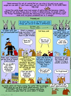 First Dog on the Moon: What you can do about climate change. Safety Posters, About Climate Change, Business Advice, What You Can Do, Global Warming, Something To Do, Canning, Murals, Hug