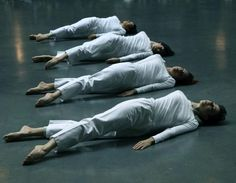 "complexae: "" Trisha Brown: Group Primary Accumulation (1970), Trisha Brown Dance Company, Tate Modern Copyright:© John Mallinson """