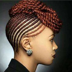 Best African Braids Hairstyle You Can Try Now | Pinterest | African ...