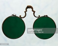 Copper spectacles from 1700s.