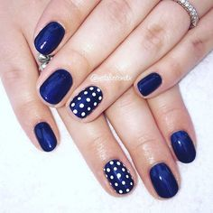 This-colour-nails-nailpic-nailart-biosculpture-bionails-gelnails-nailtech-job-wo. Fancy Nails, Trendy Nails, Diy Nails, Shellac Nail Polish, Blue Shellac Nails, White Nail Polish, Dot Nail Designs, Nails Design, Polka Dot Nails