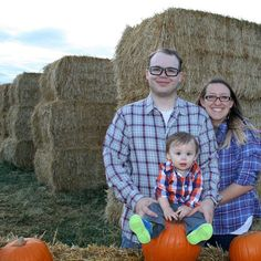 Fall family pictures! I love these two boys so much and can't wait til there's more itty bitties in our family photos :) by kelli_knecht