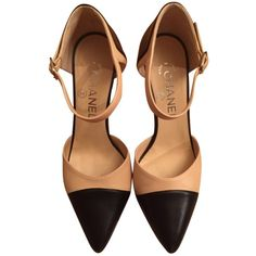 6d21d78da47 Get the must-have pumps of this season! These Chanel Classic Beige And Black  Pumps are a top 10 member favorite on Tradesy.