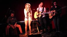 "Haley Reinhart ""Sittin' on the Dock of the Bay"" Hotel Cafe"
