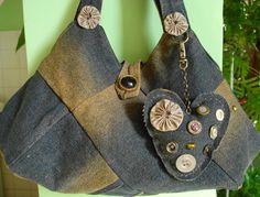 El Yapımı Harika Kot Çantalar