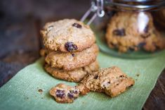 This is perfect for healthy snacking options. These cookies are easy to make, high in protein and perfect for those days when you crav...