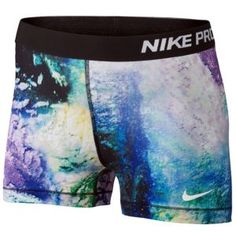 "Nike Pro 3"" Compression Short - Women's - Aerial Print"
