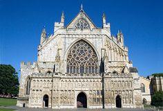 Exeter, Devon's unexpectedly lively capital city.