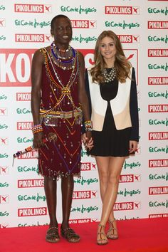 Getty Images: William Kikanae and Olivia Palermo Present New Maasai Collection